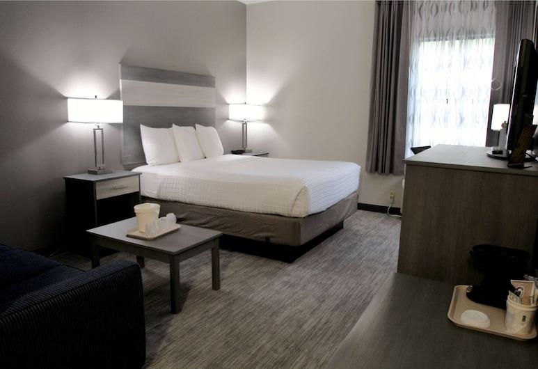 Baymont Inn & Suites by Wyndham Lafayette/Purdue Area, Lafayette, Pokoj, dvojlůžko (200 cm), nekuřácký, Pokoj