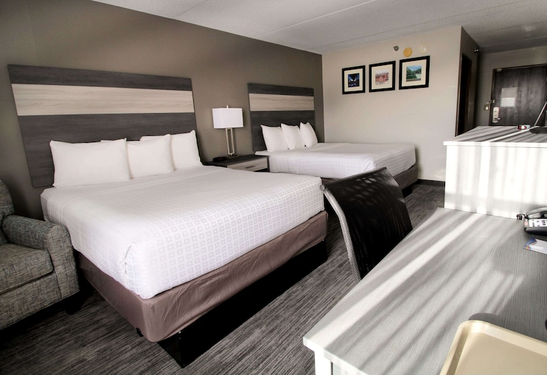 Baymont Inn & Suites by Wyndham Lafayette/Purdue Area, Lafayette, Standard Room, 2 Queen Beds, Non Smoking, Guest Room