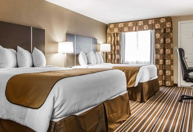 Quality Inn & Suites, South Portland, Habitación estándar, Varias camas, para no fumadores, Habitación