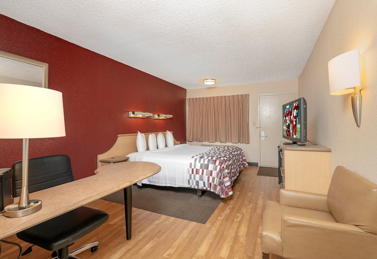 Red Roof Inn Chesapeake Conference Center, Chesapeake, Superior-Zimmer, 1King-Bett (Smoke Free), Zimmer