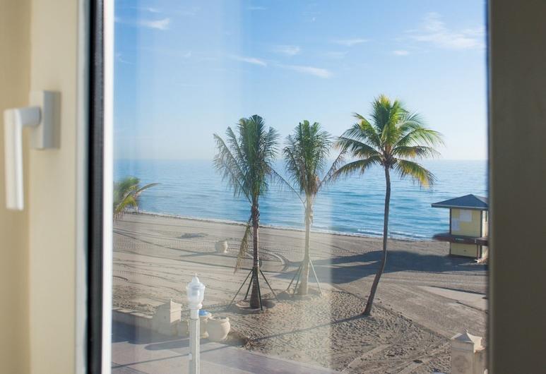 Sheldon Hotel, Hollywood, Quarto Deluxe, 1 cama king-size, Junto ao Mar, Vista do Quarto
