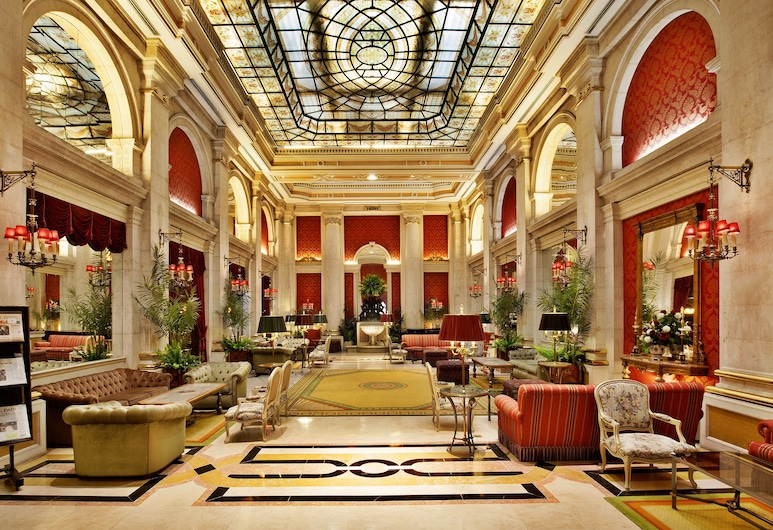 Avenida Palace, Λισσαβώνα, Καθιστικό στο λόμπι