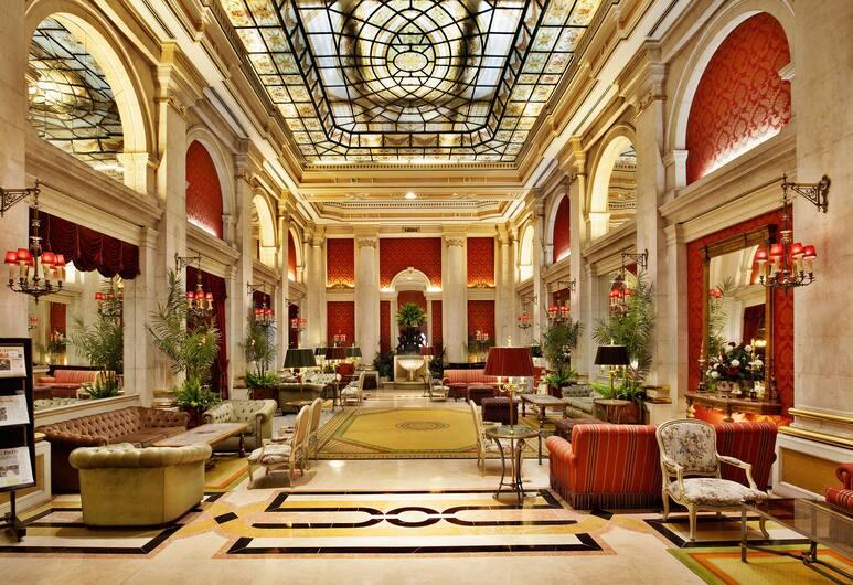Avenida Palace, Lisboa, Sitteområde i lobbyen