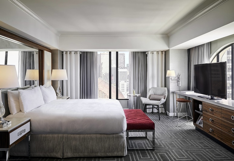 JW Marriott San Francisco Union Square, San Francisco, Studio Suite, 1 King Bed with Sofa bed, Guest Room