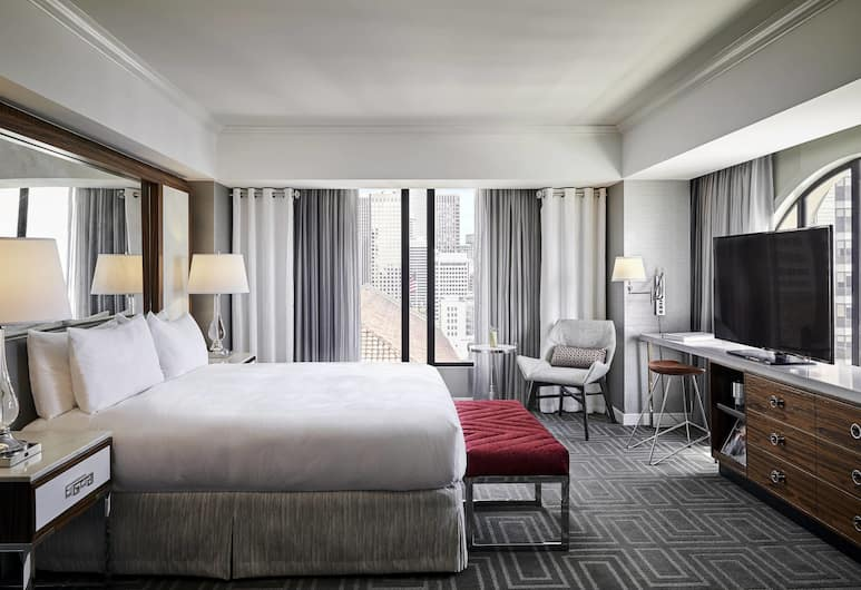 JW Marriott San Francisco Union Square, San Francisco, Studio, 1 King Bed with Sofa bed, Guest Room