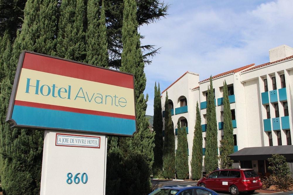 Hotel Avante, a Joie de Vivre Boutique Hotel, Mountain View, Hotel Front
