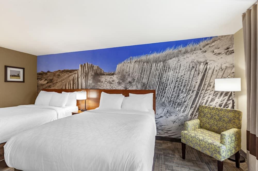 Habitación estándar, 2 camas de matrimonio, no fumadores - Habitación
