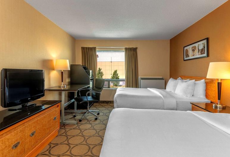 Comfort Inn Hamilton, Hamilton, Comfort Care, Standard Room, 2 Double Beds, Non Smoking, Ground Floor, Guest Room