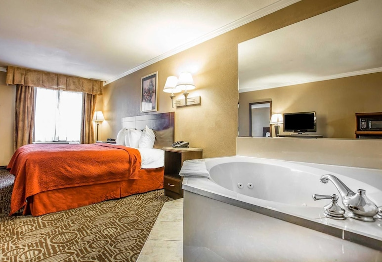 Quality Inn & Suites Ft. Jackson Maingate, Columbia, Habitación