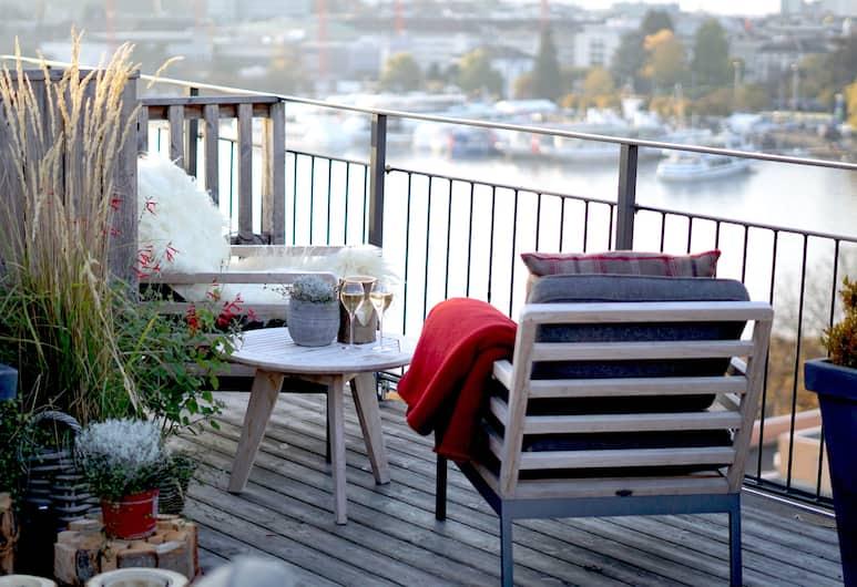 Small Luxury Hotel Ambassador Zürich, Zurych, Taras/patio