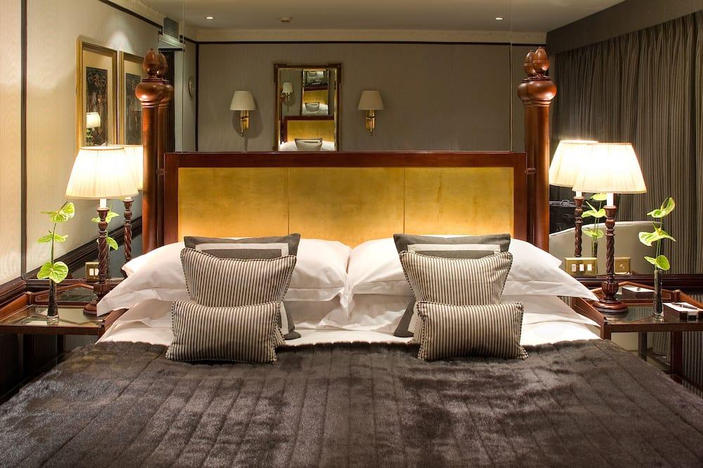 Pagerinto tipo dvivietis kambarys (2 viengulės lovos) - Svečių kambarys