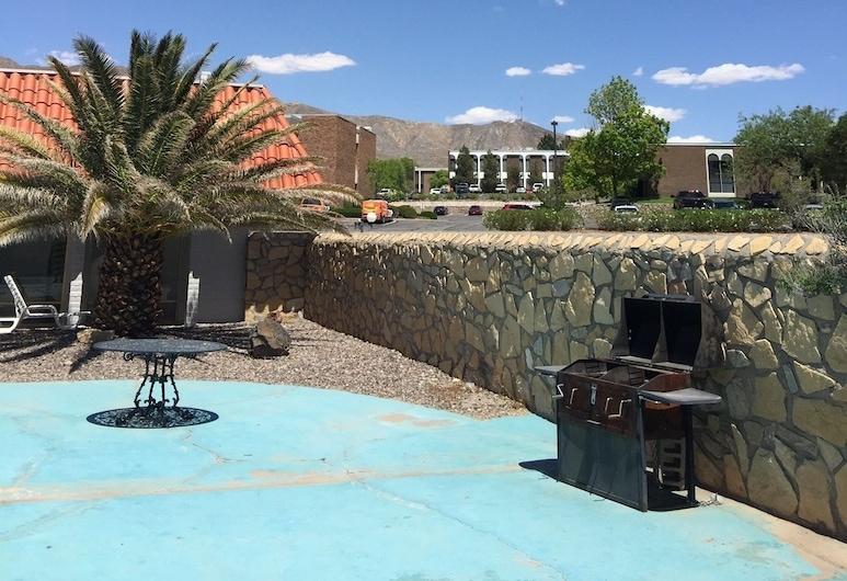 Extend-A-Suites Utep, El Paso, Área para churrasco/piquenique