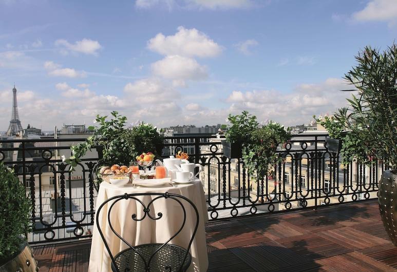 Hotel Balzac, Parijs, Terras