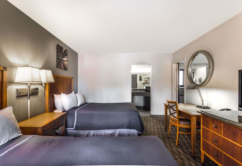 Howard Johnson by Wyndham Scottsdale Old Town, Scottsdale, Quarto casal, 2 camas de casal, Quarto