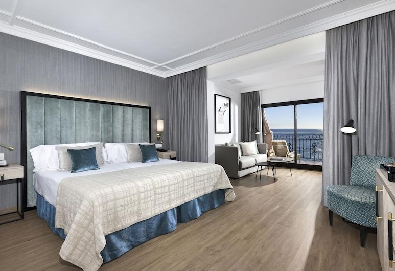 Hotel Fuerte Marbella, Marbella, Junior-suite - 2 enkeltsenge, Værelse