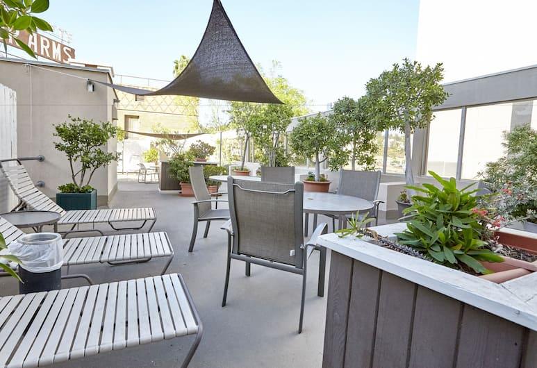 Hollywood Orchid Suites, Los Angeles, Terrasse/veranda