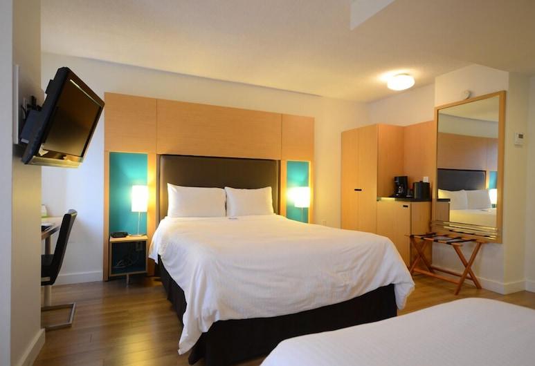 Bond Place Hotel, Toronto, Deluxe tweepersoonskamer, Meerdere bedden, Kamer
