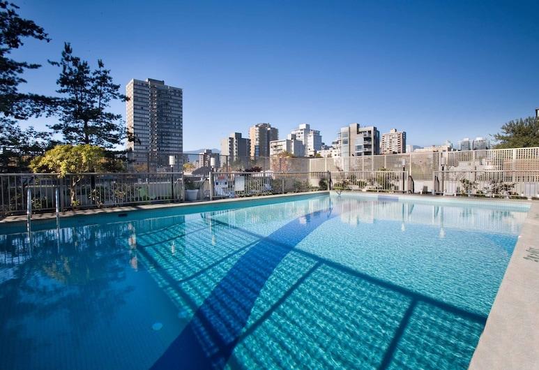 Sandman Suites Vancouver on Davie, Vancouver, Piscina Exterior