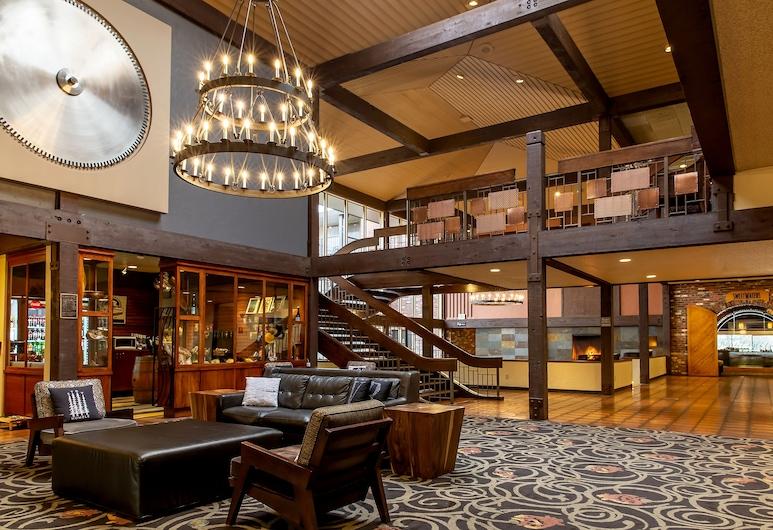 Valley River Inn, יוג'ין, לובי