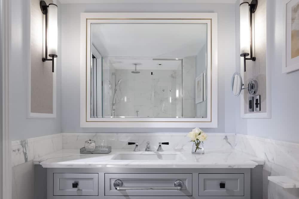 Dvojlôžková izba typu Premier, bezbariérová izba - Kúpeľňa