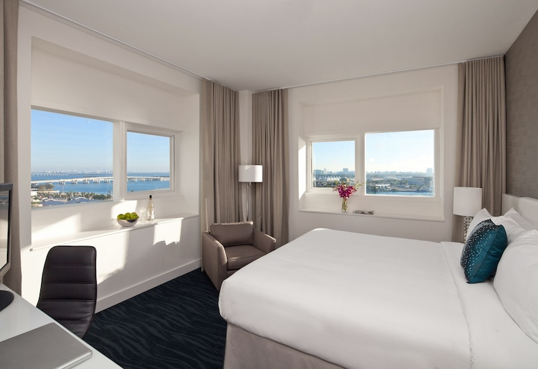 YVE Hotel Miami, Miami, Savvy King, Guest Room