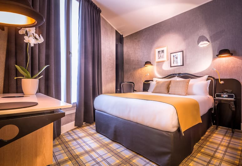Best Western Premier Opera Faubourg, Paris, Standard Room, 1 Double Bed, Non Smoking, Guest Room