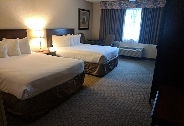 Red Lion Inn & Suites Vancouver, Vancouver, Soba, 2 queen size kreveta, Soba za goste
