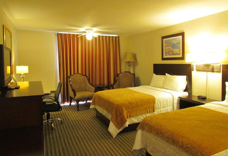 Romana Hotel, Houston, Quarto Duplo, 2 camas de casal, Quarto