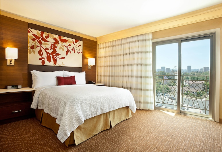 Courtyard by Marriott Los Angeles Century City/Beverly Hills, Los Angeles, Kamer, 1 queensize bed, Kamer