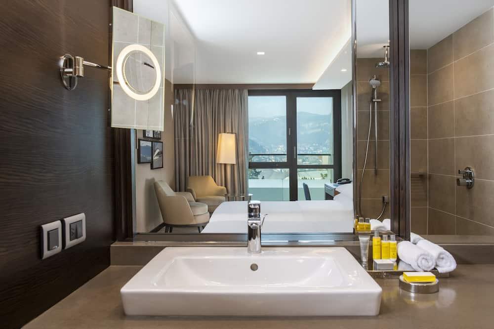 Deluxe-Zimmer, 1King-Bett, Nichtraucher - Badezimmer