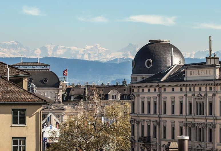 Altstadt Hotel, Zurique, Quarto casal, Terraço (Rooftop), Vista do hotel