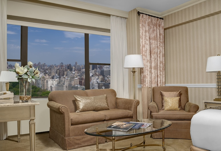 Park Lane Hotel, New York, Executive Studio Suite, 1 King Bed, Park View, Guest Room