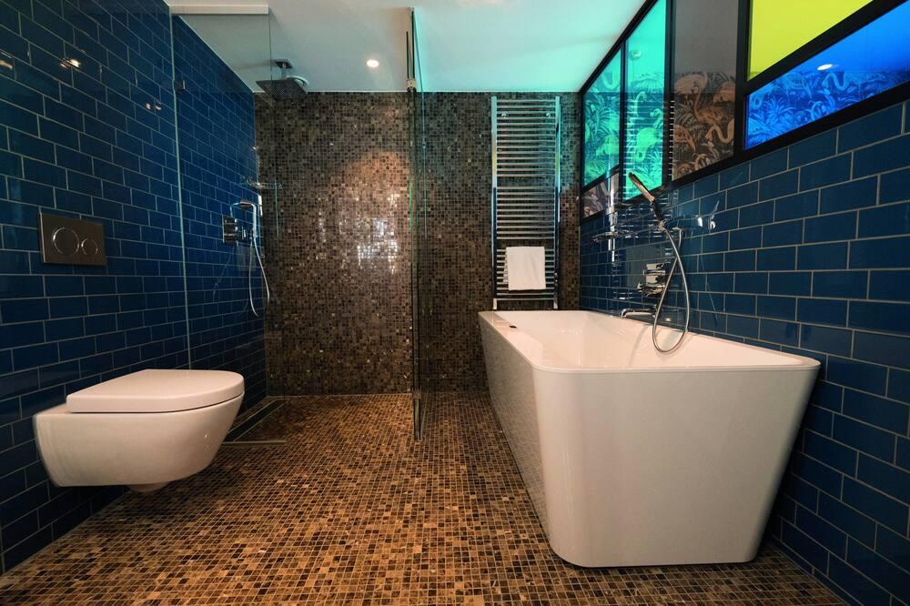 Suite de diseño, 1 habitación, para no fumadores, vista al canal - Baño