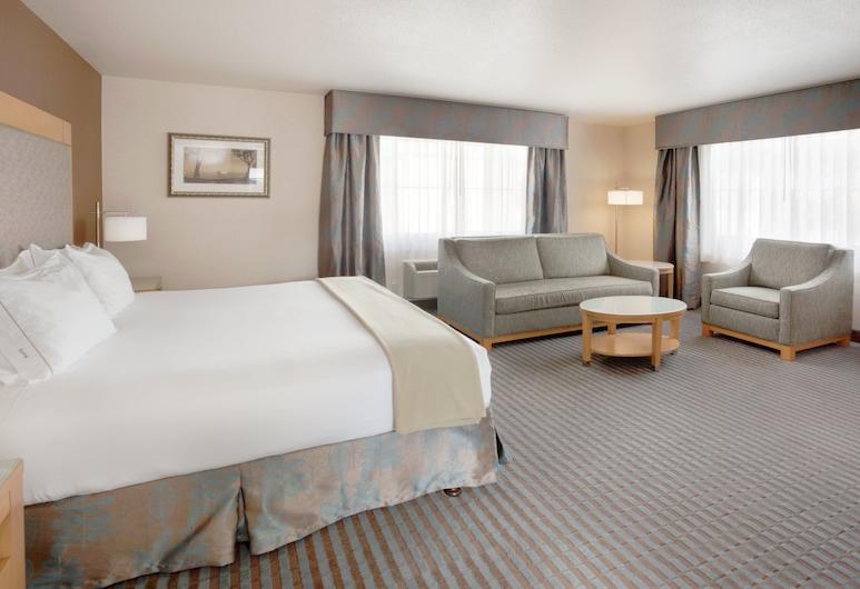 Holiday Inn Express Monterey-Cannery Row, Monterey, Standarta numurs, 1 divguļamā karaļa gulta un dīvāngulta, nesmēķētājiem, Viesu numurs