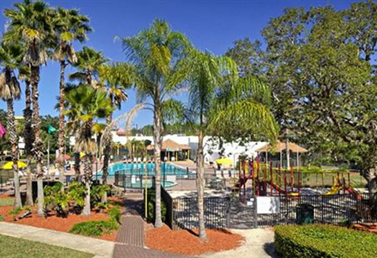 Seralago Hotel & Suites Main Gate East, Kissimmee, Terrein van accommodatie