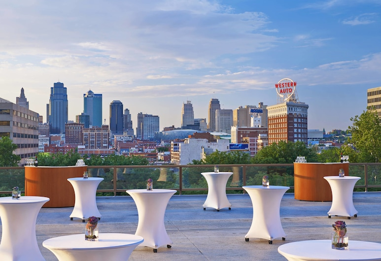 The Westin Kansas City at Crown Center, Kansas City, Teras/Veranda
