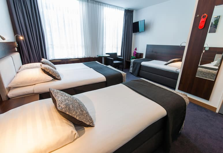 Hotel City Garden Amsterdam, Amsterdam, Quadruple room, Chambre