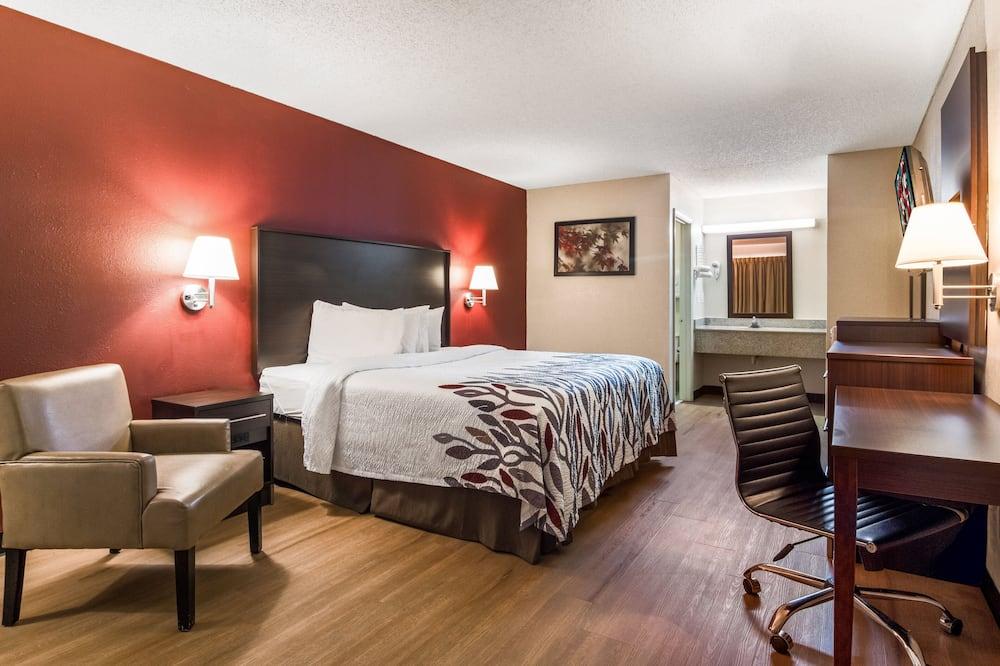 Apartmán typu Executive, 1 extra veľké dvojlôžko, fajčiarska izba, masážna vaňa - Hosťovská izba