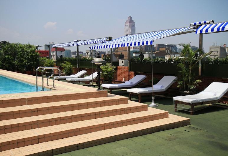 Hotel Royal-Nikko Taipei, Taipei, Zwembad op dak