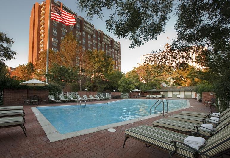 Little America Hotel, Солт-Лейк-Сити, Открытый бассейн