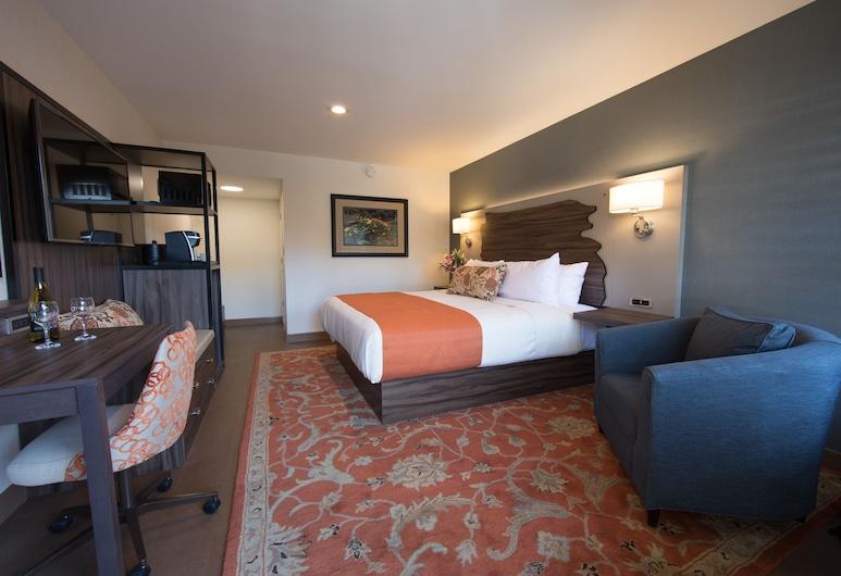 The Vine Inn Davis, Davis, Paaugstināta komforta vienvietīgs numurs, 1 divguļamā karaļa gulta, nesmēķētājiem, Viesu numurs