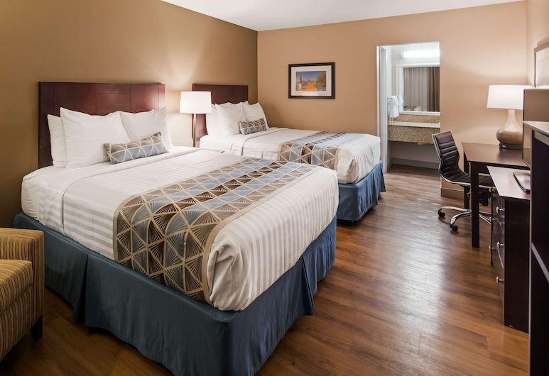 Best Western Annapolis, Annapolis, Standard Room, 2 Double Beds, Smoking, Guest Room