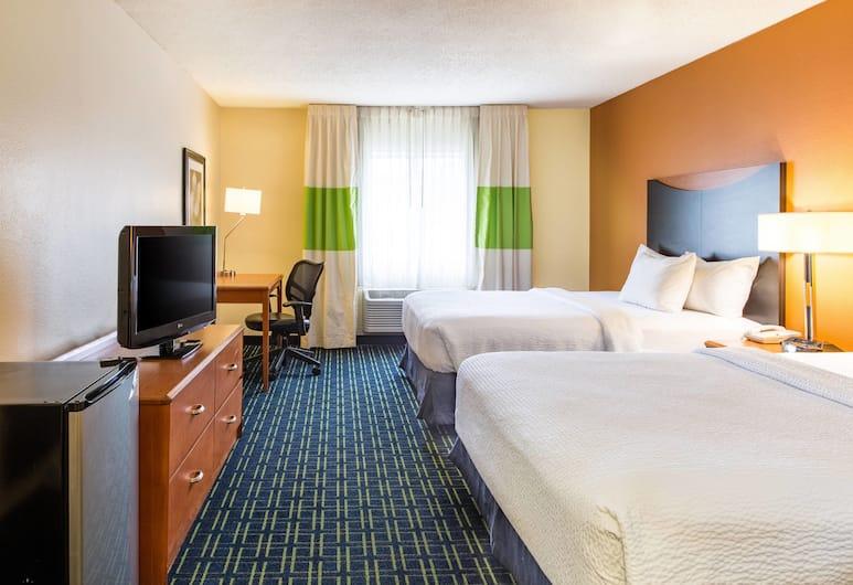Fairfield Inn & Suites Billings, Billings, Room, 2 Queen Beds, Guest Room