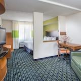 ห้องเอ็กเซกคิวทีฟสวีท, เตียงคิงไซส์ 1 เตียง, ปลอดบุหรี่ (Extended) - พื้นที่นั่งเล่น