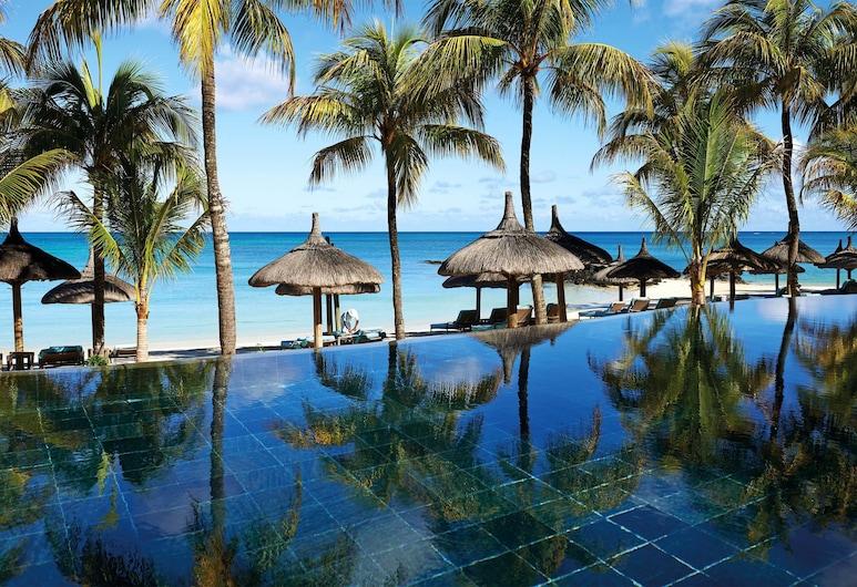 Royal Palm Beachcomber Luxury, Grand-Baie, Blick vom Hotel