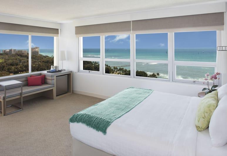 Queen Kapiolani Hotel, Honolulu, Premier Room, 1 King Bed, Balcony, Ocean View, Guest Room