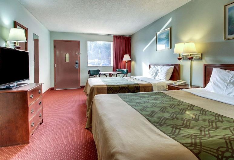 Econo Lodge Inn And Suites, Φόρεστ, Standard Δωμάτιο, 2 Queen Κρεβάτια, Μη Καπνιστών, Δωμάτιο επισκεπτών