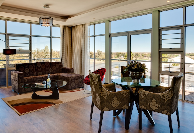 The Oasis, Upington, Executive-Suite, Wohnbereich
