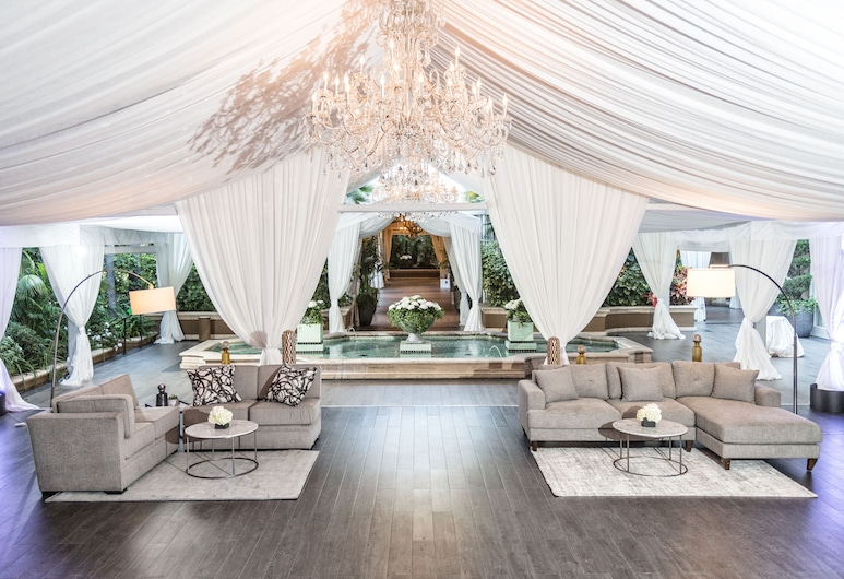 Four Seasons Los Angeles at Beverly Hills, Los Angeles, Outdoor Wedding Area