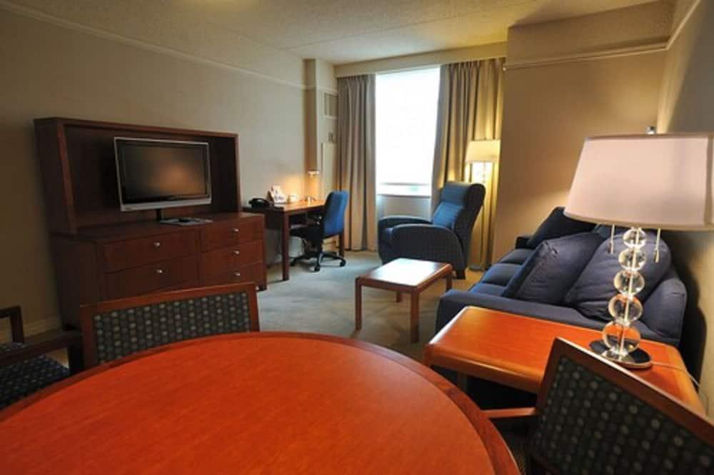 Standard Süit, 1 En Büyük (King) Boy Yatak ve Çekyat - Oturma Alanı